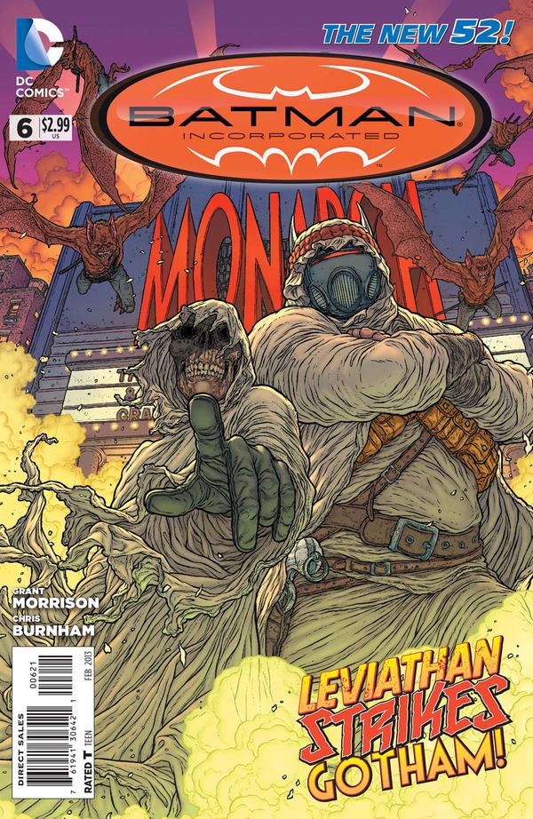 Batman Inc 6 Alternate Cover