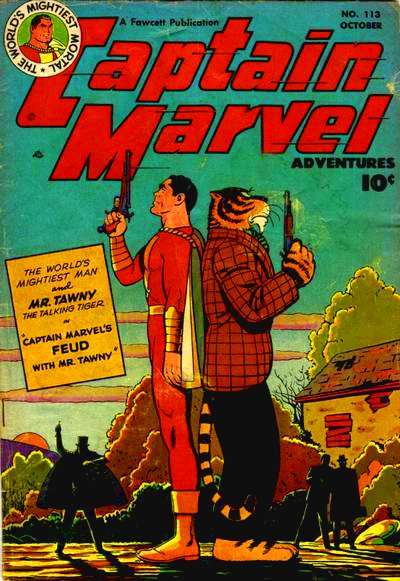 Captain Marvel 113 - Tiger Duel