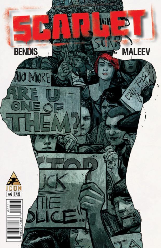 Maleev Scarlet 6 Cover