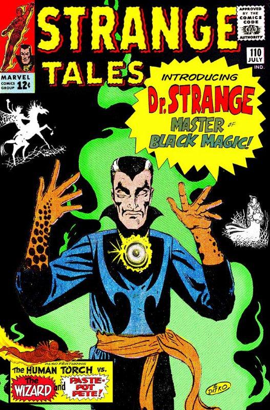 Ditko Dr Strange