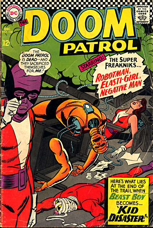Doom Patrol 108
