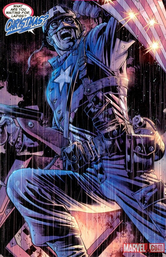 Hitch Captain America