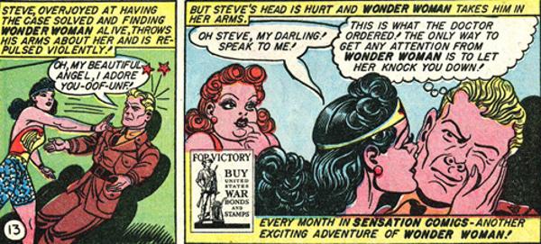 Just make sure you establish your safe word first, Steve.