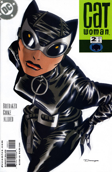 (Featuring my personal favorite Catwoman costume.)