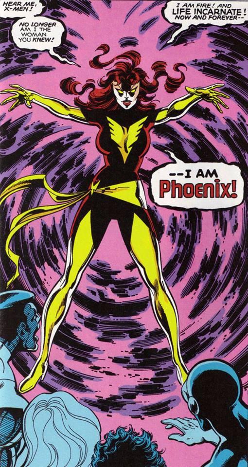 Dark Phoenix by Byrne