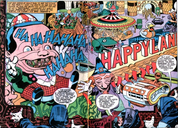 Darkseid Happyland by Kirby 1