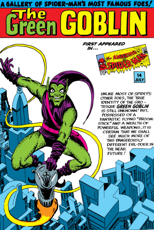 Green Goblin by Ditko