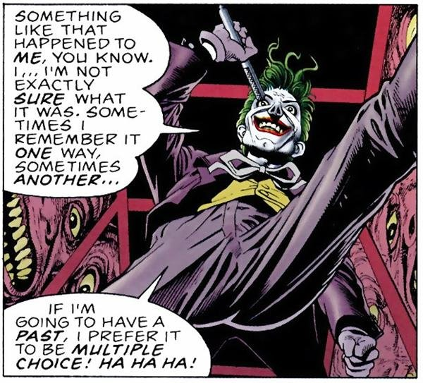 Joker by Bolland Multiple Choice