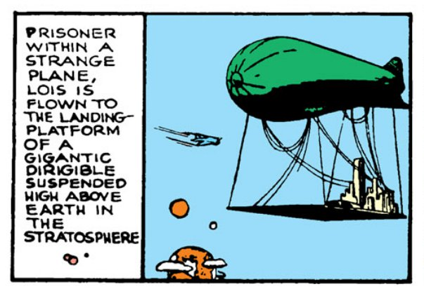 Luthor Dirigible City