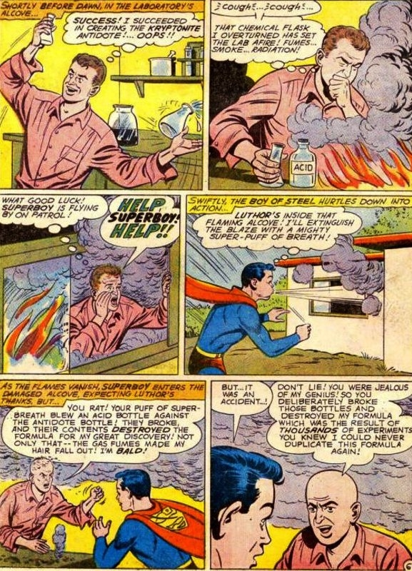 Luthor Hair Loss