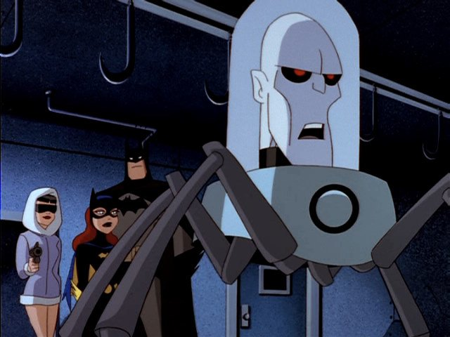 Mr Freeze Animated Spider Legs