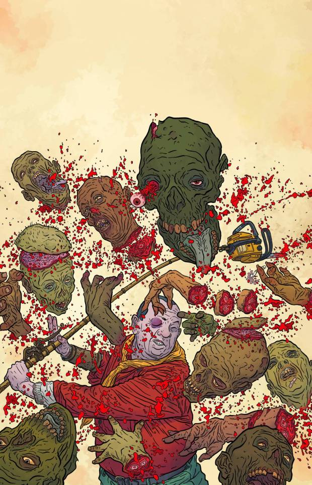 Darrow Shaolin Cowboy vs Zombies