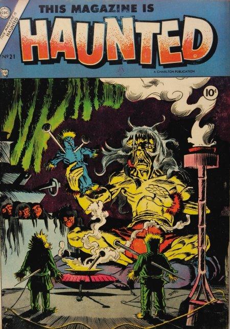 Ditko Haunted 21