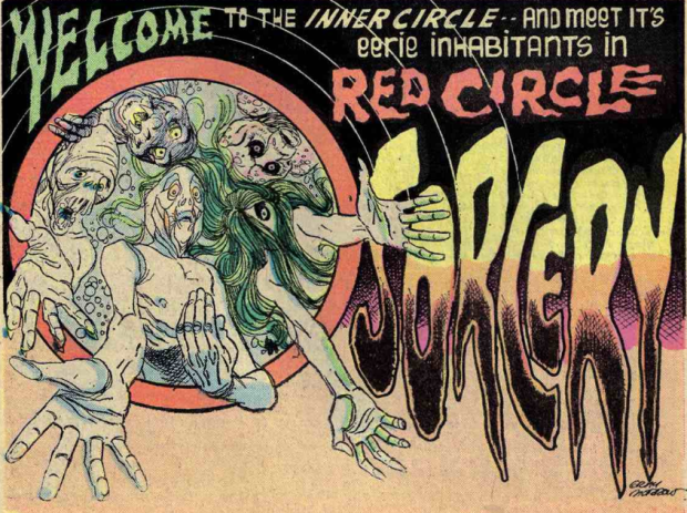 Gray Morrow - Red Circle Sorcery Ad