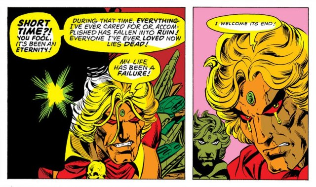 Starlin Death of Adam Warlock