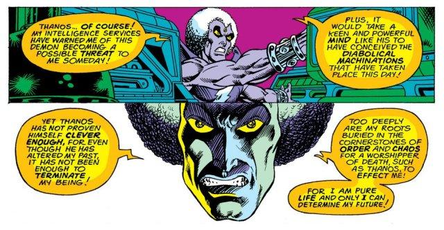Starlin Magus Thanos
