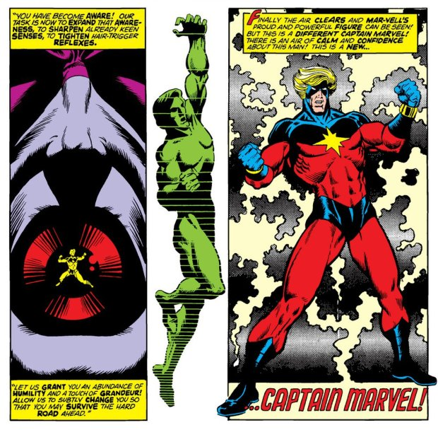 Starlin New Captain Marvel