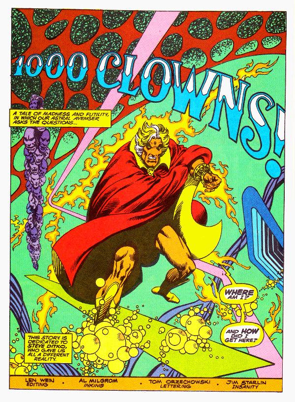 Starlin Warlock 1000 Clowns