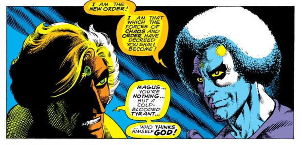 Starlin Warlock Magus