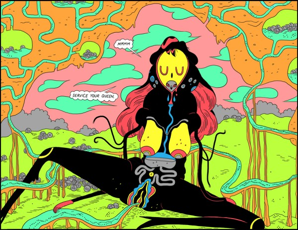DeForge Ant Comic Queen
