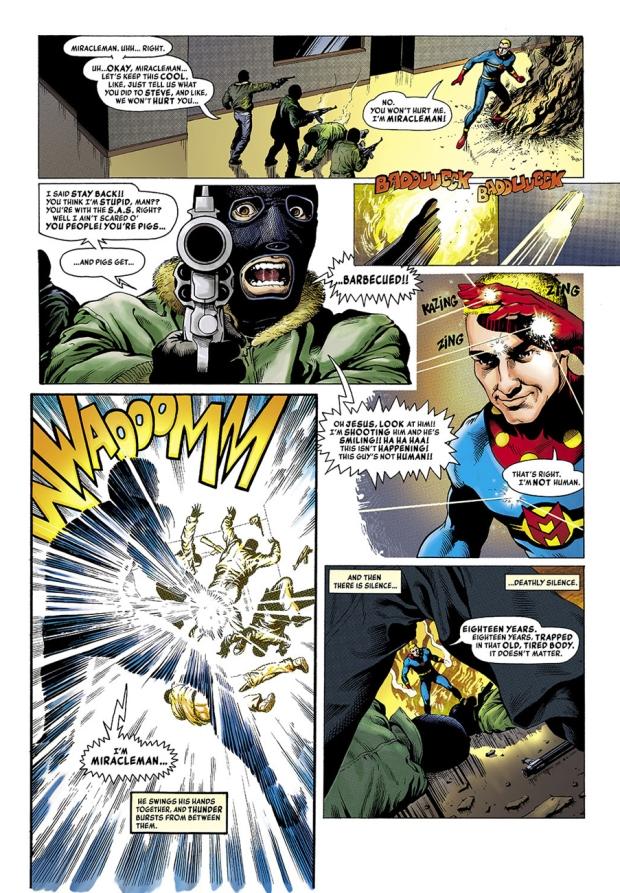 Leach Miracleman 1 Bulletproof