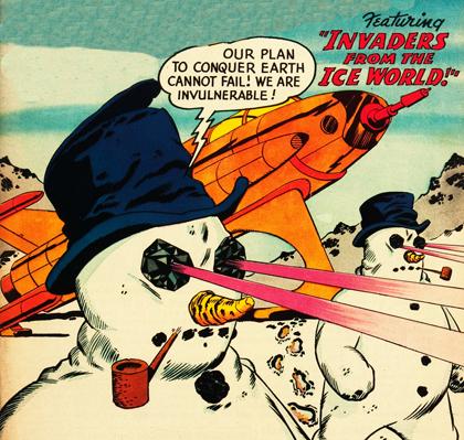 Snowman Invasion