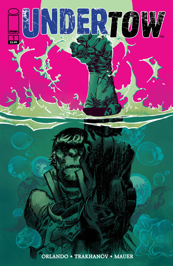 Undertow 1 Cover