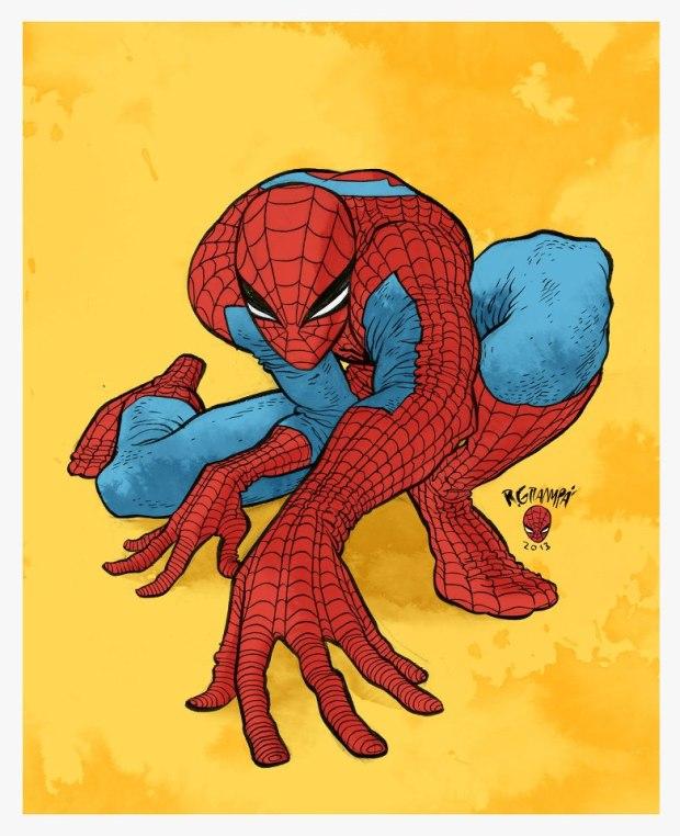 Grampa Spider-Man