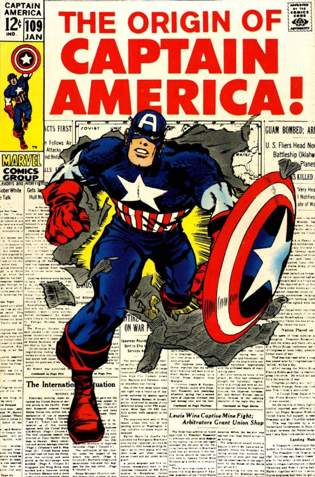 Kirby Captain America 109