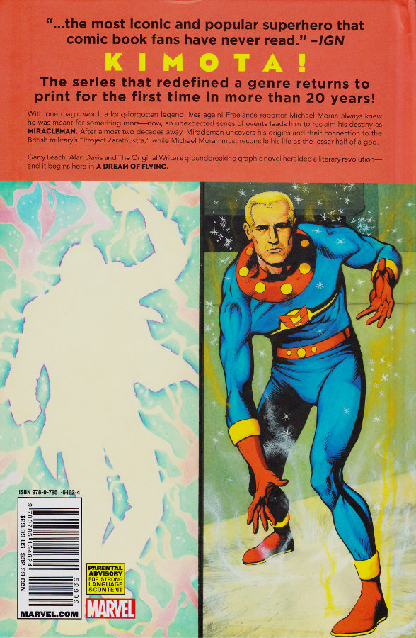 Miracleman Back Cover