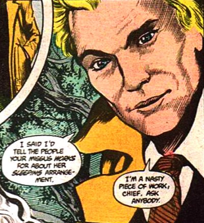 (Though he was initially drawn by Rick Veitch.)