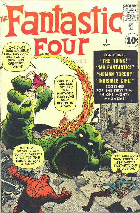 Kirby Fantastic Four 1