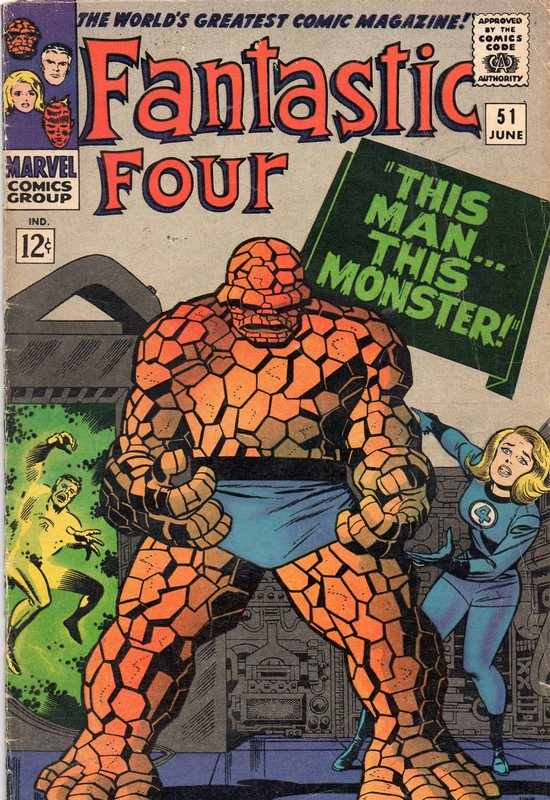 Kirby Fantastic Four 51