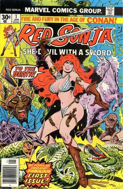 Thorne Red Sonja