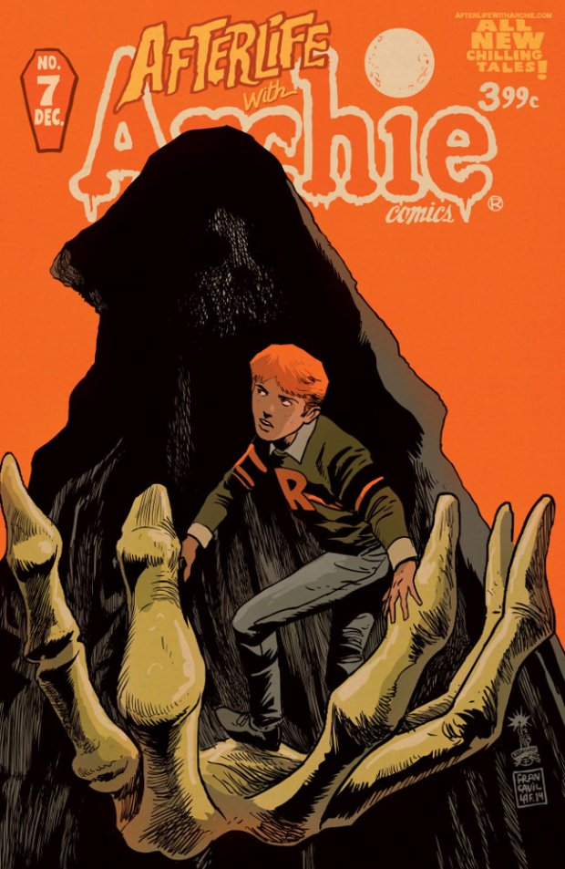 Francavilla Afterlife With Archie 7