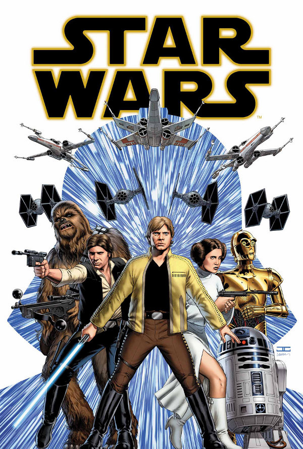 Star Wars 1 Cassaday Cover