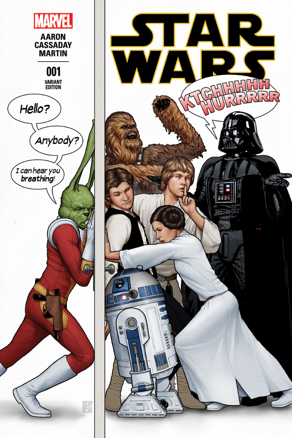 Star Wars 1 Jaxxon Cover
