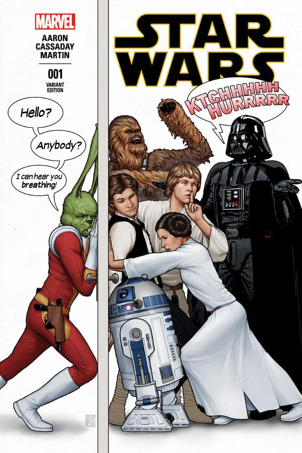 Star Wars 1 Jaxxon Cover