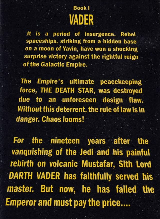 Darth Vader Scroll