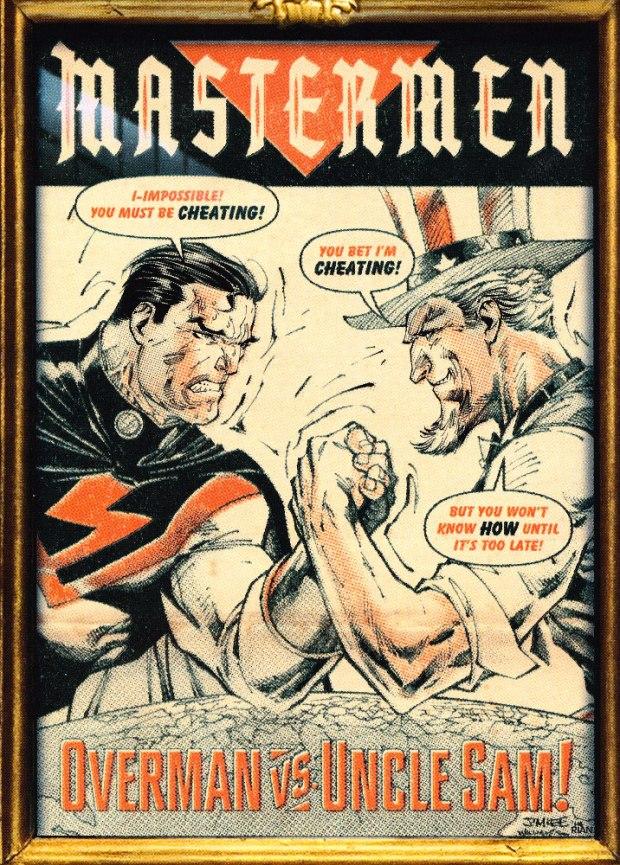 Jim Lee Mastermen Cover