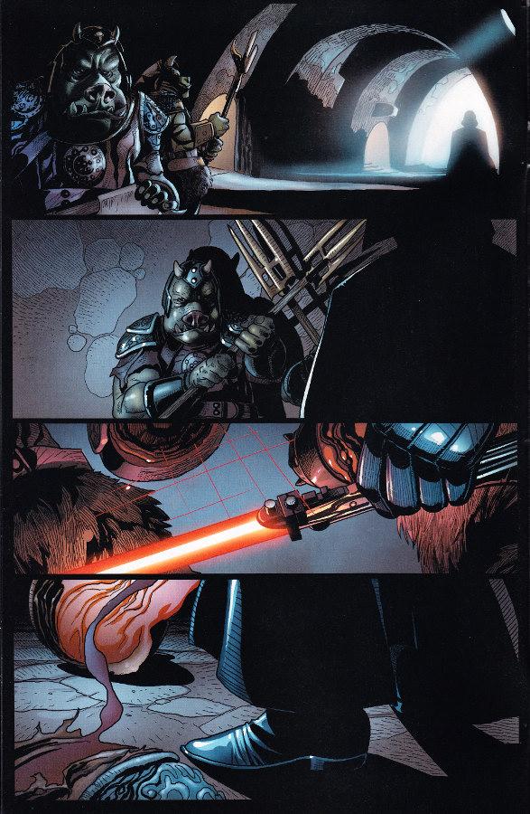 Larroca Vader Attack