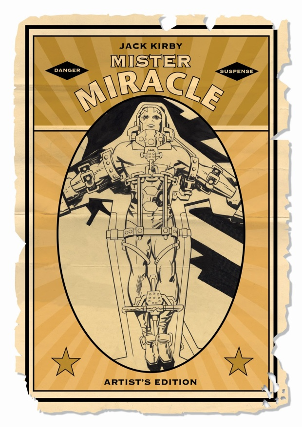 Kirby Mister Miracle Title