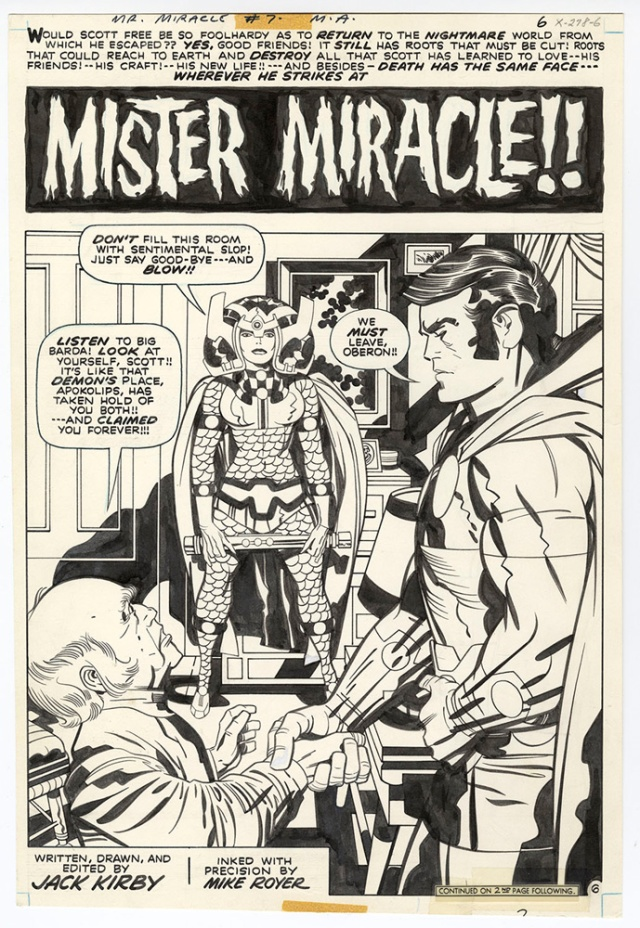 Kirby Mr Miracle Artist Edition 3