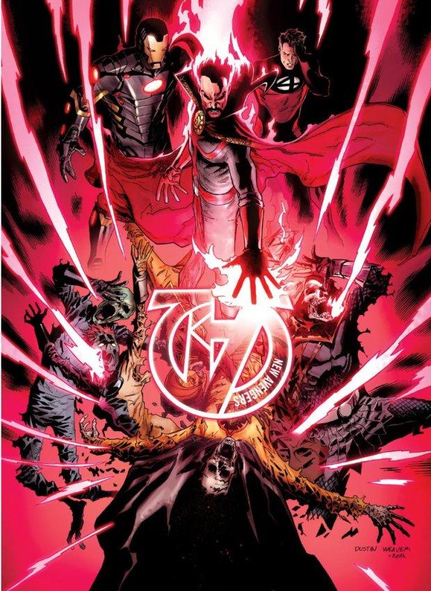 Weaver New Avengers 20