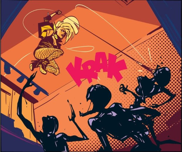 Wu Black Canary Fight