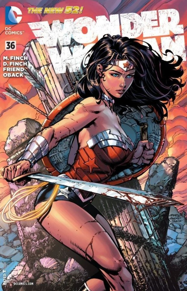 Finch Wonder Woman 36