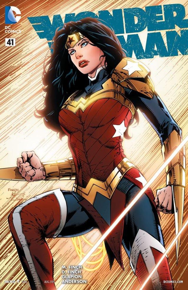 Finch Wonder Woman 41