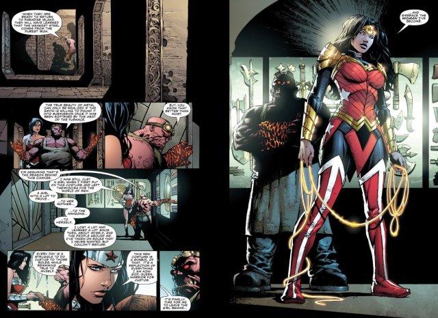 Finch Wonder Woman Armor