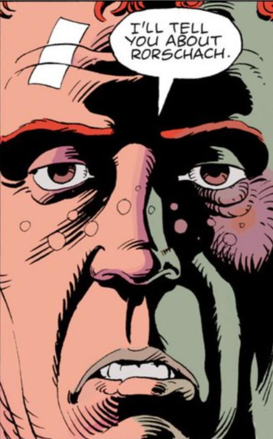 Rorschach Close-Up