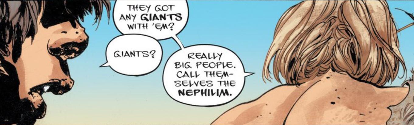 Guera Goddamned Nephilim